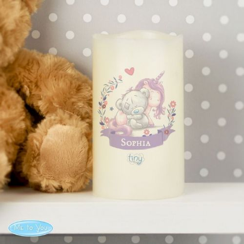 Tiny Tatty Teddy Unicorn Nightlight LED Candle